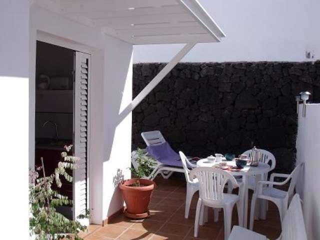 Patio - Apartmento Sena, Puerto del Carmen, Lanzarote